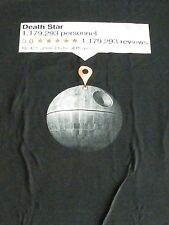 T-Shirt - Google Review for Star Wars - Deathstar - Fake Reviews Detected