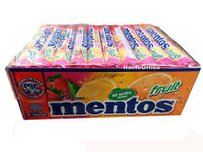 40 Rolls Mentos FRUITS Chewy Dragee 40 Packets