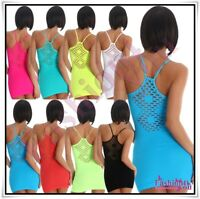 Sexy Ladies Summer Mini Dress Women's Casual Short Dress One Size 6,8,10,12 UK