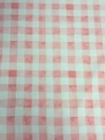 Painted Gingham Bloom Pink Michael Miller Fabric FQ + More 100% Cotton