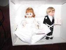 "Madame Alexander 8"" MADC Premiere Bride and Groom Dolls"