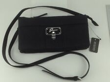 Women's GUESS Brand Black ABELIA MINI CROSSBODY Handbag - $78 MSRP - 10% off