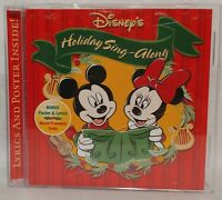 Disney's Holiday Sing-Along (CD 2002) Complete with Poster & Lyrics