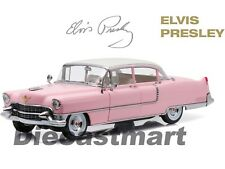 "1955 Rose Cadillac Fleetwood Séries 60 "" Elvis Presley "" 1:18 Greenlight 12950"