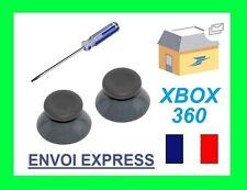 STICK ANALOGIQUE GRIS X2 MANETTE XBOX 360 JOYSTICK NEUF et tournevis torx T8
