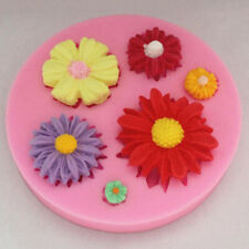 Mold Tool Chocolate Flower Decorating Clay Candy Soap Silicone Baking Cake