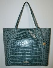NWT Brahmin Obsidian Veil Textured Leather Extra Large Misha Tote Bag Purse $495