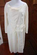 Alberta Ferretti Ivory Dress Size 10