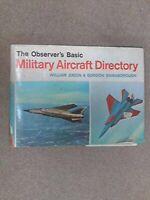 Observer's Basic Military Aircraft Directory by Swanborough, Gordon Hardback The