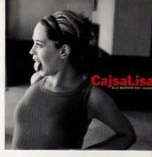 (BC720) Cajsa Lisa, Alla Behover Nan - 1999 CD