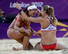 MISTY MAY TRAINER AND KERRI WALSH 2012 OLYMPIC BEACH VOLLEYBALL 8x10 PHOTO