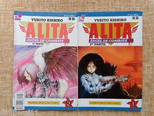 Alita, Ángel de Combate, 2ª parte, nº 1 y 2, Viz Comics, Yukito Kishiro, 1995
