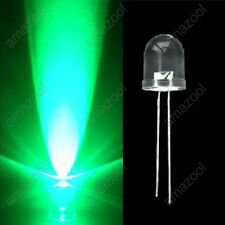 1000 pcs x Superbright 10mm Round Green LED Light Lamp