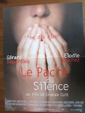 AFFICHE LE PACTE DU SILENCE GERARD DEPARDIEU GRAHAM GUIT 2003 40 X60 CM