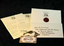 Harry Potter Brief , Triangle , Zugticket Hogwarts Express 1