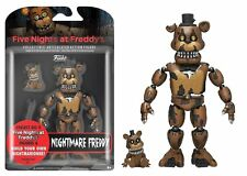 """New 2017 Five Nights At Freddy's NIGHTMARE FREDDY 5"""" Figure IN STOCK"""