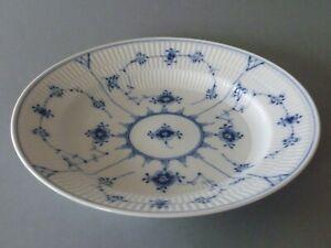 """Royal Copenhagen Blue Fluted Plain - Deep Dinner Plate 9 7/8"""" or 25 cm - #75 1st"""