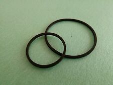 2 Courroie Courroies Pour Philips ag4031/00 ag-4031/22a ALL TRANSISTOR Drive Belt