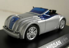 Unbranded 1/43 Scale Concept Nissan JIKOO Silver Diecast Model Car
