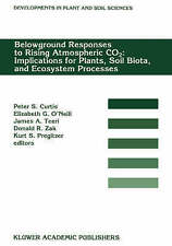 Belowground Responses to Rising Atmospheric CO2: Implications for Plants, Soil B