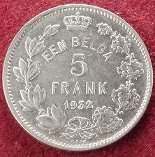 Belgium 5 Francs 1932 (C1610)