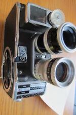 Vintage BOLEX PAILLARD B-8SL 8mm Camera in Working Condition w/ 2 lenses, As Is