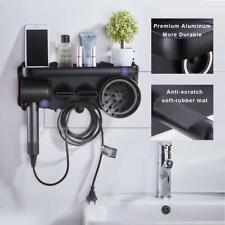Premium Aluminum Hair Dryer Wall Stand Holder Hanger for Dyson Supersonic Dryer