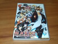 Black Cat - The Complete Series (DVD, 2010, 3-Disc Set) All 24 episodes