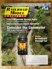 Vintage RAILROAD MODEL CRAFTSMAN Magazine July 2018 Trains Locomotives