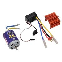 540 Brushed Motor + 45A ESC Set Kit for 1/10 Scale RC Buggy Truck Crawler Car