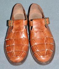 Men's Giorgio Brutini Brown Leather Fisherman Sandals - Size 10.5  D