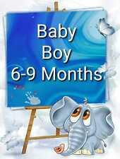Bebé Niño hacer su propio paquete de Talla 6-9 meses Jeans Pantalones Abrigo