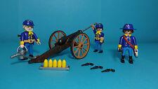 Playmobil Western ~ US-Artillerie / US Artillery (3812) mit Anleitung / Manual