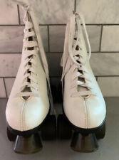 Lenexa Supreme -Roller Skates - Derby Woman's Size 10, White Shoe, EUC