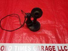 Antique Kellogg 1901-1908 Candlestick Telephone Bakelite Ear Vintage Display