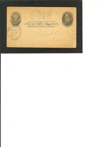 "al Card UX 18 PRE PRINTED ""Gage Tent, III, K.O.T.M.m."" dated 1-3-1907"