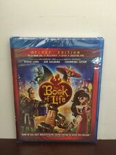 The Book of Life 3D Blu Ray+Blu Ray+DVD+Digital HD New Sealed Ships Fast!!!