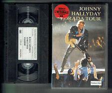 Johnny Hallyday K7 Video VHS Secam Lorada Tour Bercy 95