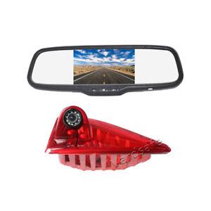 Rear View Reverse Backup Camera & Mirror Monitor for Nissan NV400 (2010-2017)