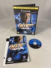 007: NightFire (Nintendo GameCube, 2002) GC CIB Complete w/ Manual Tested
