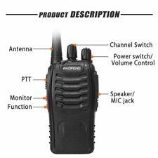 BAOFENG BF-888S RICETRASMITTENTE PMR RADIO UHF 400-470 MHz WALKIE TALKIE 1 PEZZO