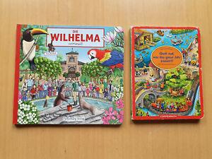 2 Wimmelbücher für Kids, 1x Wilhelma, 1x das ganze Jahr, Super!