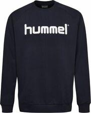 Hummel Mens Sport Training Casual Sweatshirt Tracksuit Long Sleeve Top Crew Neck