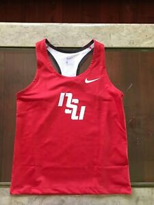Red Nike NSU Razorback Tank Top, Medium