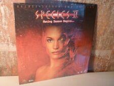 SPECIES II / 2 - LASERDISC LD - DELUXE LETTERBOX Edition - Natasha Henstridge