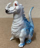 Dinosaur Monster figure plastic vintage 1970's Hong Kong Prehistoric dragon horn
