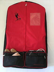 AMDance Designs Red Garment bag