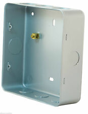 6 & 8 GANG STEEL SWITCH BOX FOR SURFACE OR FLUSH MOUNTING GRID SWITCH BOX