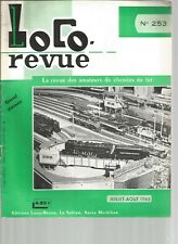 LOCOR REVUE N°253 CONS. FOURGON GV A COMPARTIMENT POSTAL / PROTHESE DENTAIRE (2)