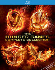 THE HUNGER GAMES - COMPLETE COLLECTION (4 FILMS) BLU-RAY UK BLURAY